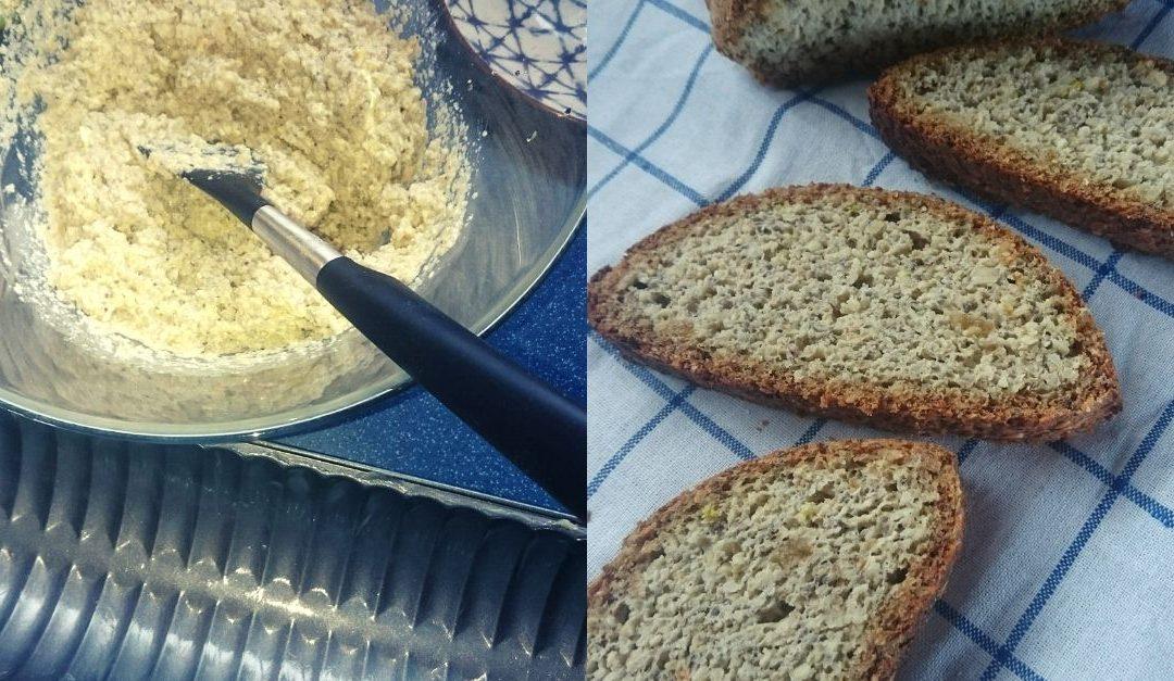 Bezobilný (bezlepkový) dangu chléb